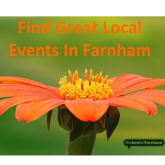 Your guide to things to do in Farnham – 11 May to 24th May