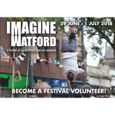 Volunteer for Imagine Watford Festival