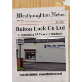 Bolton Lock Company Celebrate 35 Years in Business!