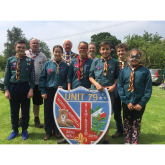 New Mayor`s First Official Engagement is with Sutton Coldfield Scouts
