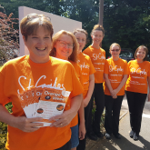 CAN YOU HELP TURN THE COMMUNITY ORANGE TO CELEBRATE 35 YEARS OF ST GILES HOSPICE CARE?