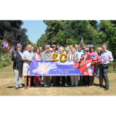 Lichfield Proms 2018 sponsors gather in Beacon Park
