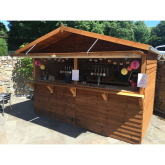 Curley's Dining Rooms introduce brand new outside bar!