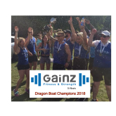 2018 Dragon Boat Festival Champions - Gainz Fitness & Strength