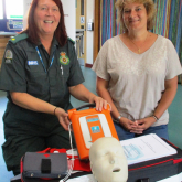 Topsie Rabbit raises money for life-saving Defibrillators