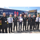 Gregory Distribution Ltd recognised for supporting the Fire & Rescue Service
