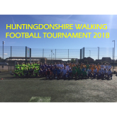 HUNTINGDONSHIRE WALKING FOOTBALL TOURNAMENT 2018