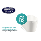 CHANNEL ISLAND CERAMICS LAUNCHES NEW VALUE BATHROOM RANGE