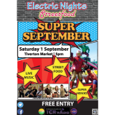 Electric Nights Streetfood – Super September