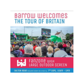 Don't miss Barrow's OVO Energy Tour of Britain Fanzone!!