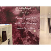 Fabulous September offers at Radiance Medispa