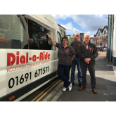 Help Qube to combat loneliness by volunteering with Oswestry Dial-A-Ride