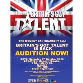 Britain's Got Talent is Coming to Ipswich this October