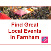 Your guide to things to do in Farnham – 28th September to 11th October