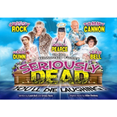 Win Tickets to Seriously Dead Starring Tommy Cannon (Cannon & Ball) and Crissy Rock (Benidorm)! This October at TCAT!