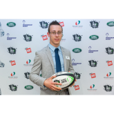 Exeter Chief's HITZ participant wins Academic Achiever Award