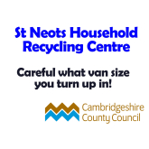 St Neots Recycling Centre Information about van sizes that can enter