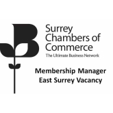 Membership Manager-East Surrey - Vacancy for @SurreyChambers