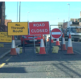 Eskdaill Street in Kettering Improvement Works