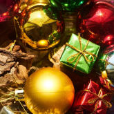 Are all your Christmas decorations stuck in the loft?