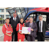 A Grant to Devon Air Ambulance from Devonshire Freemasons brings total donations to air ambulance charities to £2.3 million