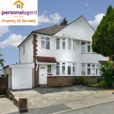 Property of the Week – Three Bedroom Semi Detached House – Kirby Close - #Stoneleigh #Surrey @PersonalAgentUK