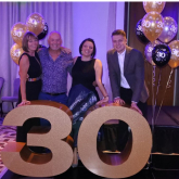 The Bathroom Studio in Kettering celebrates 30 years in business.