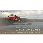 Devon Air Ambulance inspires local support for Lift A Loved One Christmas campaign