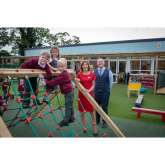 SCHOOL IS FLOORED BY REDROW SUPPORT