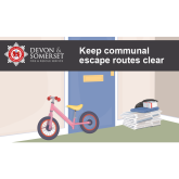 Check your communal escape routes are clear of clutter this Christmas