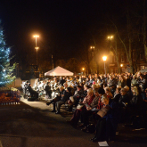 Over 350 attend Peace Hospice Care's Lights of Love ceremony