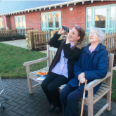 Banbury care home residents flock together for birdwatch