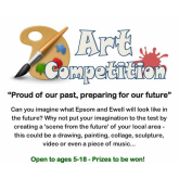 Borough wide art competition 'looks to the future' #Epsom #Future40