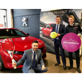 World Tennis Tour tournament attracts continued support of Shropshire car dealership Budgen Motors