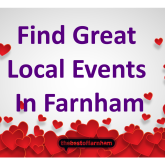 Your guide to things to do in Farnham – 1st February to Valentine's Day