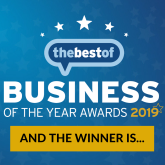 Winner in Eastbourne | Business of the Year Awards 2019