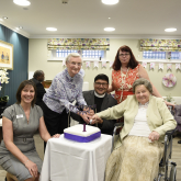 Music to their ears – care home's first birthday celebrations strike the right note