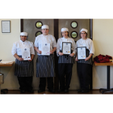 Gold medals for Richmond upon Thames College's catering students at Salon Culinaire