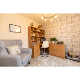 WOODLAND SETTING INSPIRES SHOW HOME INTERIOR IN DINAS POWYS