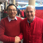 Leader of Birmingham City Council Thanks Chinese Brummies on Chinese New Year