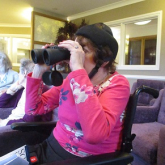 Eagle-eyed Stratford-upon-Avon care home residents enjoy birdwatch weekend