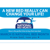 National Bed Month Begins on 1st March, Right Here in Taunton and Bridgwater,