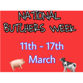 National Butchers Week begins on Monday 11th March and continues to the 18th