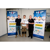 Awards for Richmond upon Thames College's Plumbing Student and Construction Crafts Department