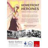 Volunteer's exhibition honours Oswestry's Homefront Heroines