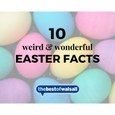 10 Weird and Wonderful Easter Facts!