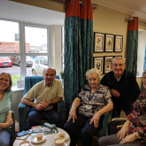Local care home showcases a resident's lifetime of paintings