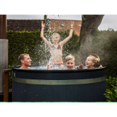 Kirami Easy Wood Fired Hot Tub a true family friend