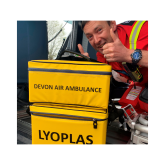 Devon Air Ambulance starts carrying freeze-dried plasma