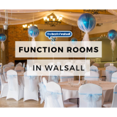 Looking for function room hire in Walsall?